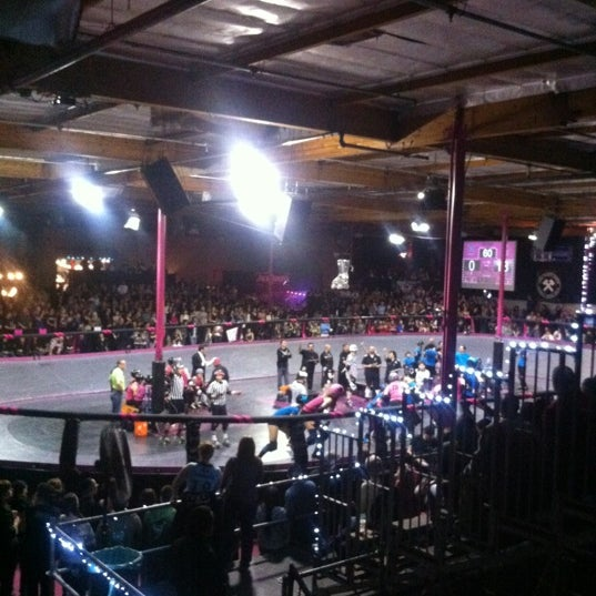 Photo taken at Doll Factory (L.A. Derby Dolls) by Dana K. on 3/11/2012