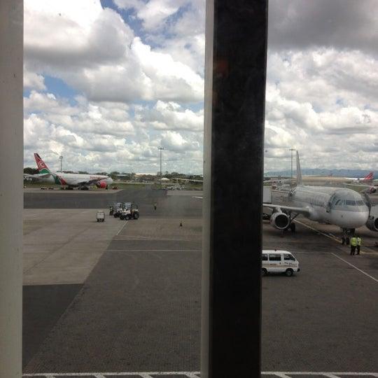 Photo taken at Jomo Kenyatta International Airport (NBO) by Noah K. on 5/8/2012