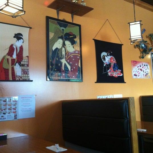 Photo taken at Matsu Japanese by Patrick T. on 5/5/2012