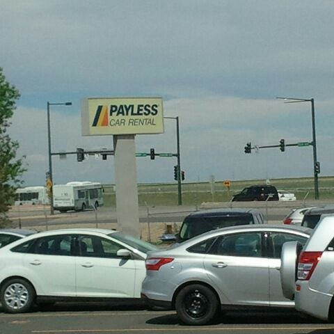 Payless car rental dia airport 17