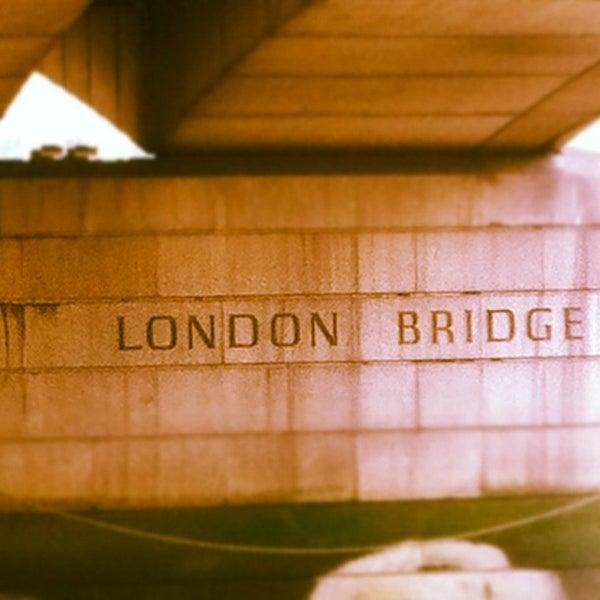 Photo taken at London Bridge by Iron N. on 8/1/2012