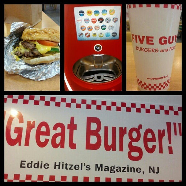 Photo taken at Five Guys by William B. on 7/23/2012