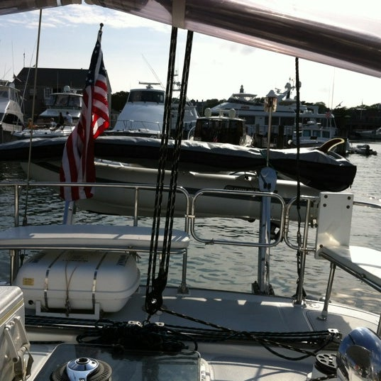 Photo taken at Nantucket Boat Basin by Julie H. on 7/27/2012