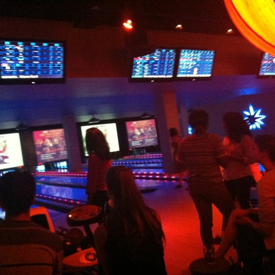 Photo taken at Lucky Strike New York by Meg R. on 7/25/2012