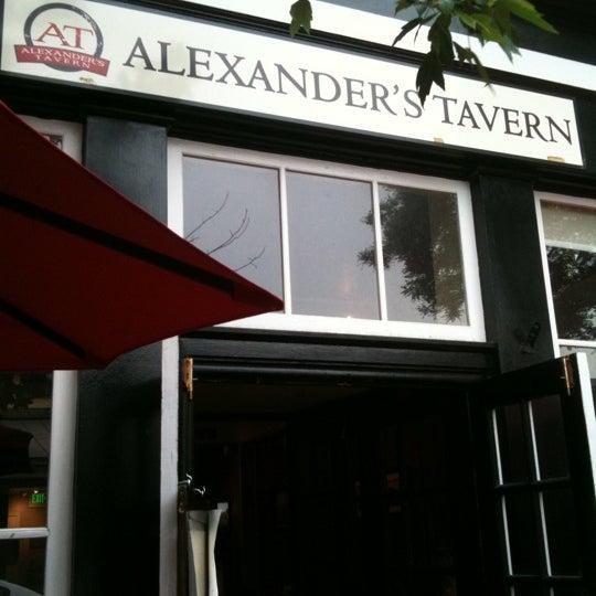 Photo taken at Alexander's Tavern by Stefanie M. on 5/13/2012