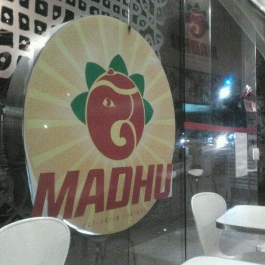 Photo taken at Madhu by Rafael N. on 7/9/2012