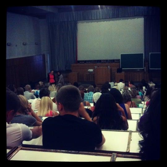 Снимок сделан в Международный университет «МИТСО» пользователем Марина 8/8/2012