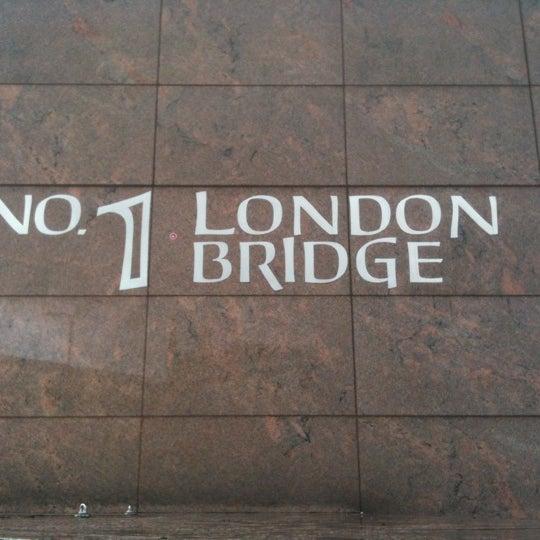 Photo taken at London Bridge by Oksana O. on 7/29/2012