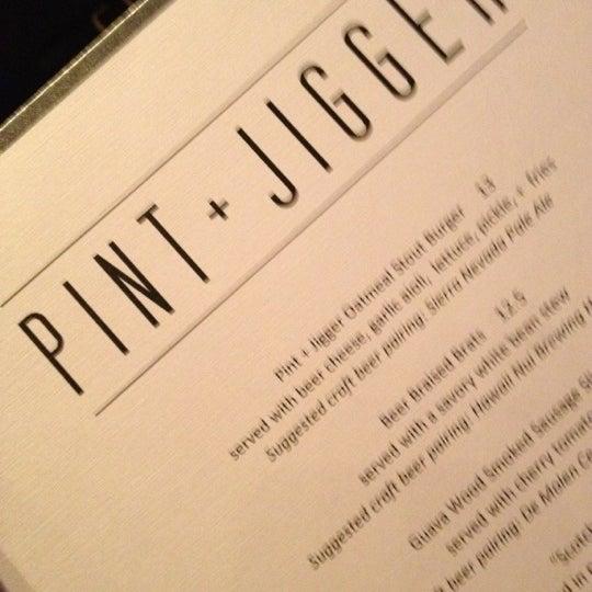 Photo taken at Pint + Jigger by LorynLulu on 6/17/2012