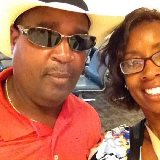 Photo taken at Gate A6 by Denise B. on 8/18/2012