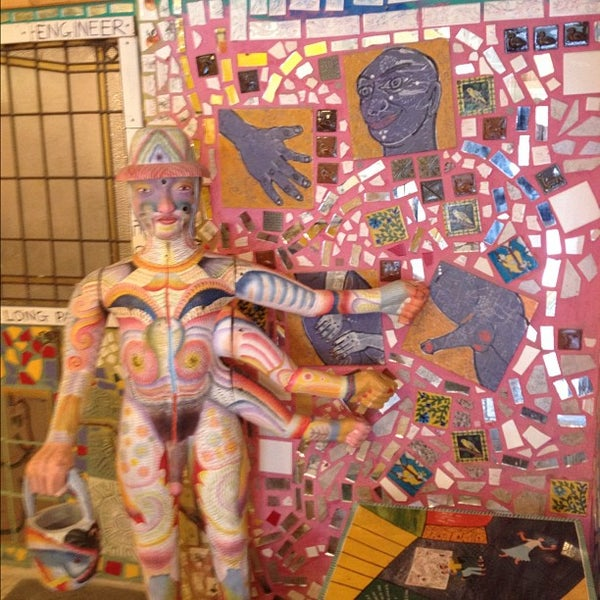 Photo taken at Philadelphia's Magic Gardens by Jeff K. on 8/2/2012