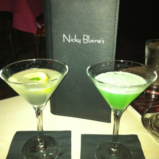 Photo taken at Nicky Blaine's Cocktail Lounge by MegAnne D. on 6/20/2012