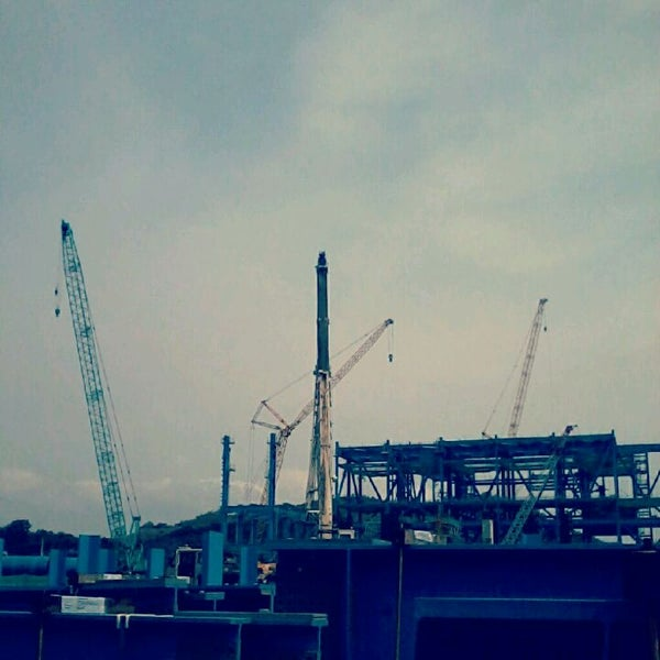 Photo taken at Mong Duong Power Plant Site by Lê K. on 5/22/2012