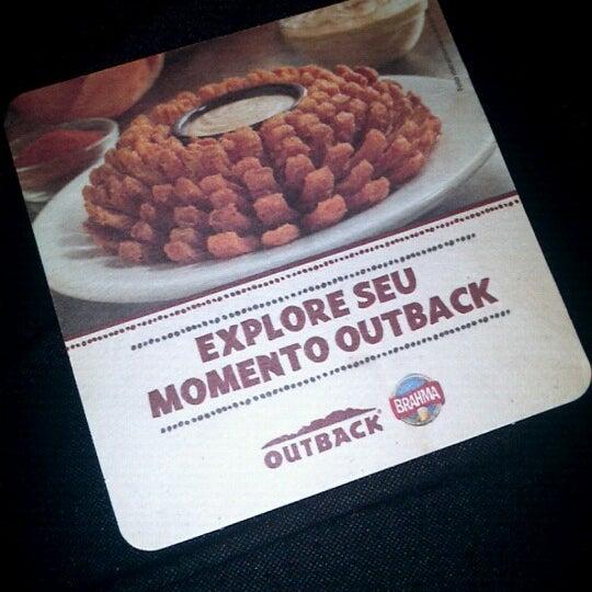 Foto tirada no(a) Outback Steakhouse por Isaias J. em 9/8/2012