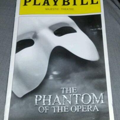 Foto tirada no(a) Majestic Theatre por Kevin T. em 3/28/2012