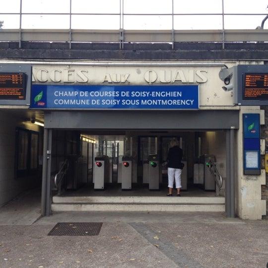 Gare Sncf Du Champ De Courses D 39 Enghien Soisy Sous