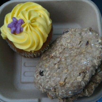 Photo taken at Sugar Plum Vegan Cafe by Brian G. on 6/22/2012
