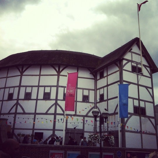 Photo taken at Shakespeare's Globe Theatre by Jeremy W. on 6/5/2012