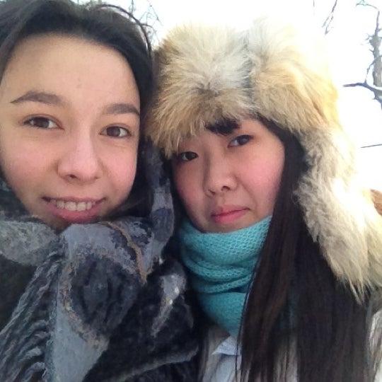 Снимок сделан в Щемиловский детский парк пользователем Vasilika P. 2/20/2012