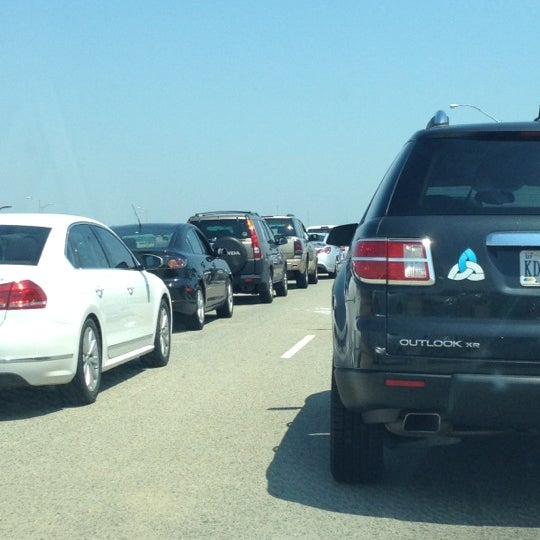 Photo taken at HRBT by Bill D. on 6/10/2012