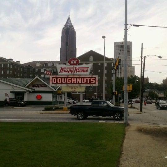 Photo taken at Krispy Kreme Doughnuts by James F. on 5/16/2012