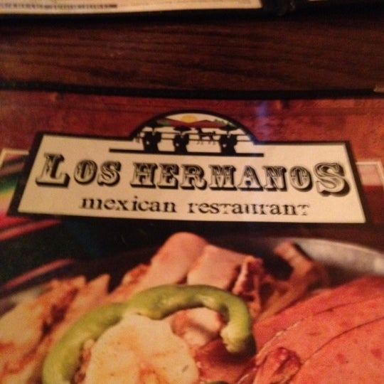 Photo taken at Los Hermanos Mexican Restaurant by Brett on 8/15/2012