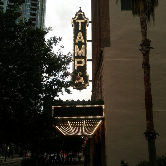 Photo taken at Tampa Theatre by sarah kaye h. on 7/9/2012