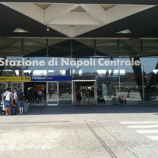 Photo taken at Napoli Centrale Railway Station (INP) by Luca L. on 8/11/2012
