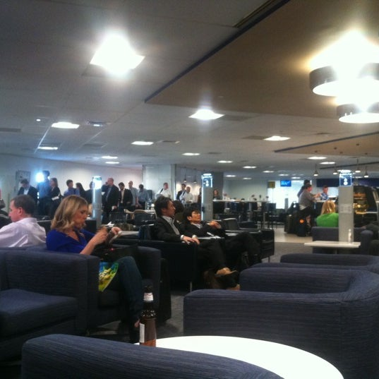 Photo taken at delta marine air terminal tsa screening by anna p on 6