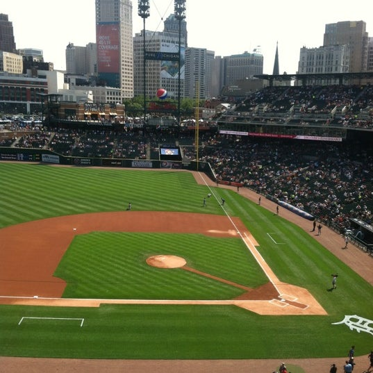 Photo taken at Comerica Park by Ethan B. on 7/7/2012