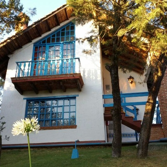 Photo taken at Villa Alpina El Chalet by Alberto M. on 4/22/2012