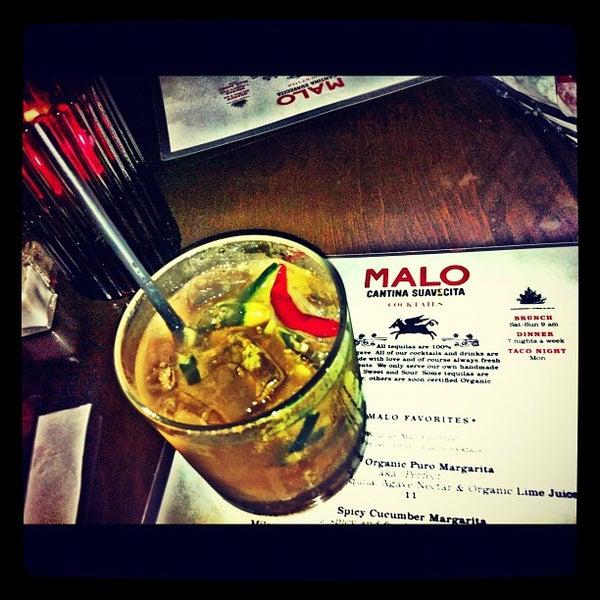Photo taken at Malo by TJ M. on 4/20/2012