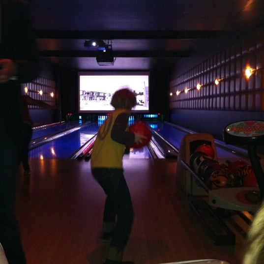 Photo taken at Lucky Strike New York by Alex M. on 4/5/2012