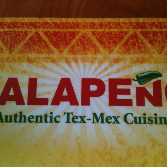 Photo taken at Jalapeño Authentic Tex-Mex Cuisine by - my - on 4/12/2012