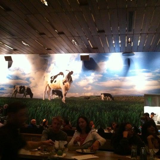Photo taken at Zinburger by Sean M. on 2/15/2012