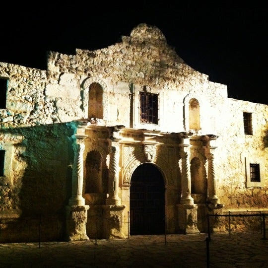 Photo taken at The Alamo by Michael D. on 6/11/2012
