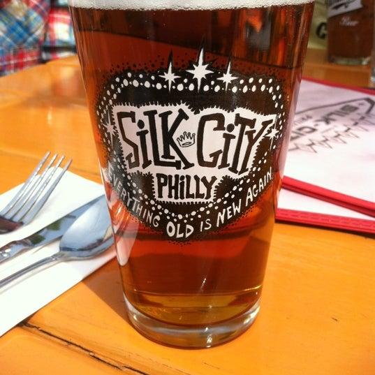 Photo taken at Silk City Diner Bar & Lounge by Julie H. on 4/14/2012