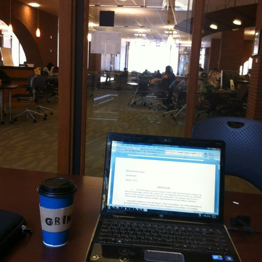 Photo taken at UWM Golda Meir Library by Amilcar G. on 3/5/2012