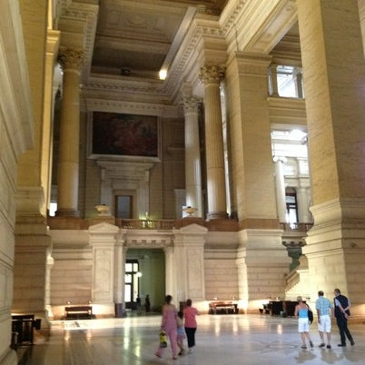 Photo taken at Justitiepaleis / Palais de Justice by Ivan G. on 7/27/2012
