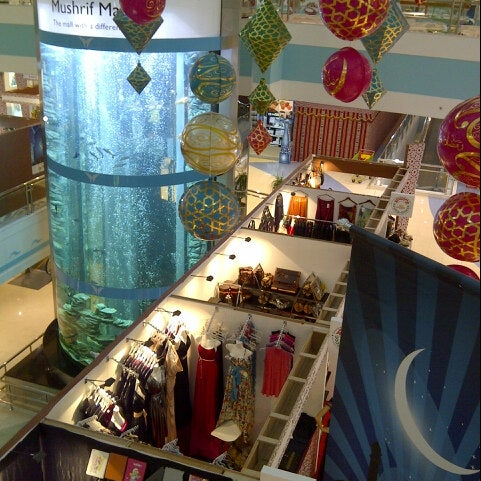 Photo taken at Mushrif Mall by Emirates S. on 7/20/2012