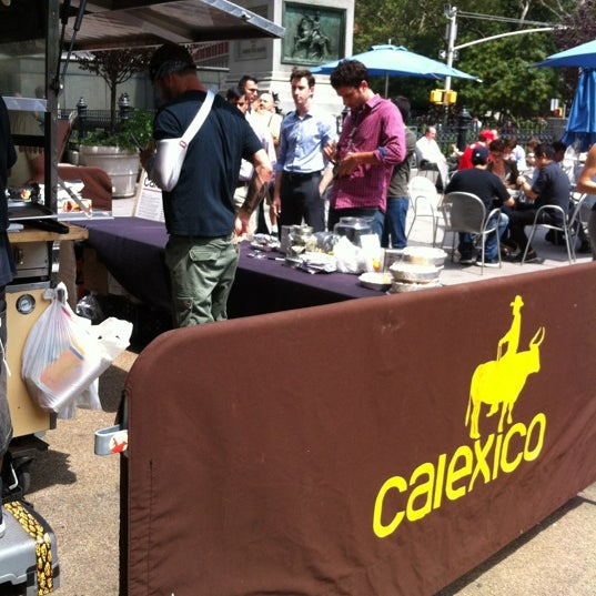 Photo taken at Calexico Cart by Danny B. on 8/21/2012