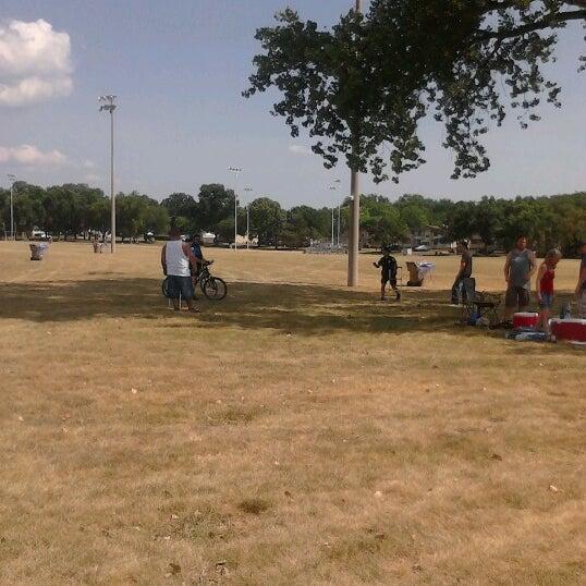 Photo taken at Warner Park by Melissa H. on 6/30/2012