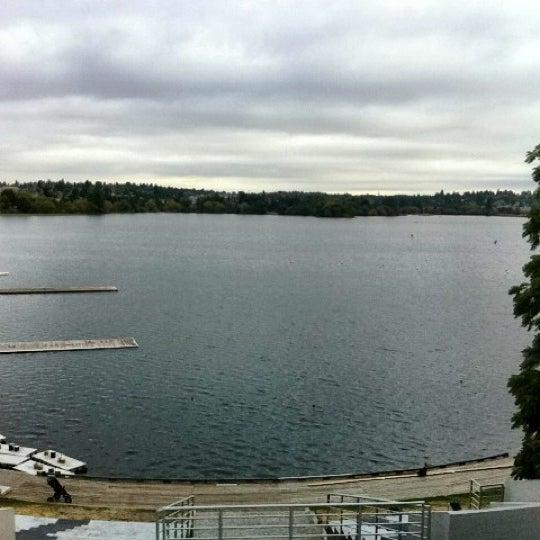 Photo taken at Green Lake Boathouse by Erik B. on 8/22/2012