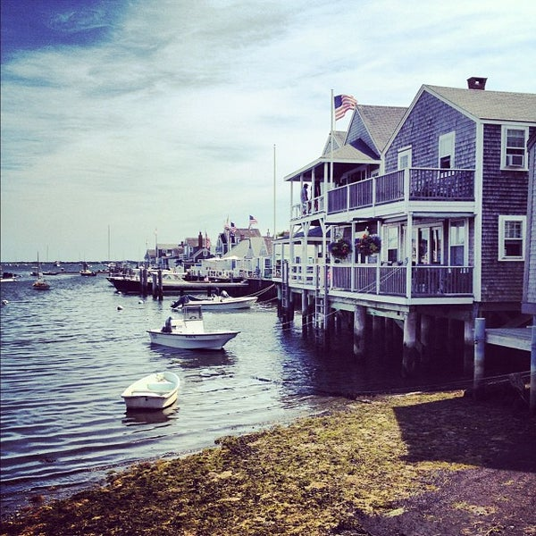 Photo taken at Nantucket Boat Basin by Andrew C. on 8/25/2012