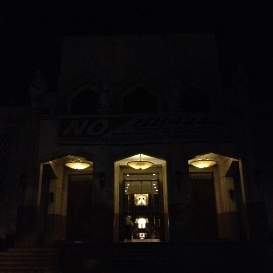 Photo taken at National Shrine of Our Lady of Peace and Good Voyage (Antipolo Cathedral) by Exequiel A. on 6/11/2012