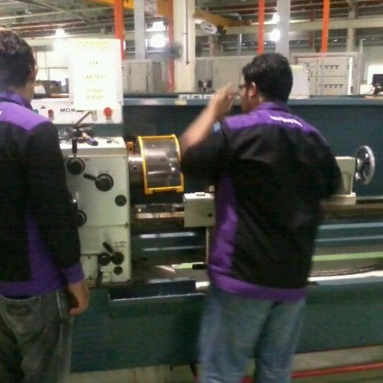 Photo taken at Fakulti Kejuruteraan Pembuatan UTeM by Majid J. on 5/31/2012