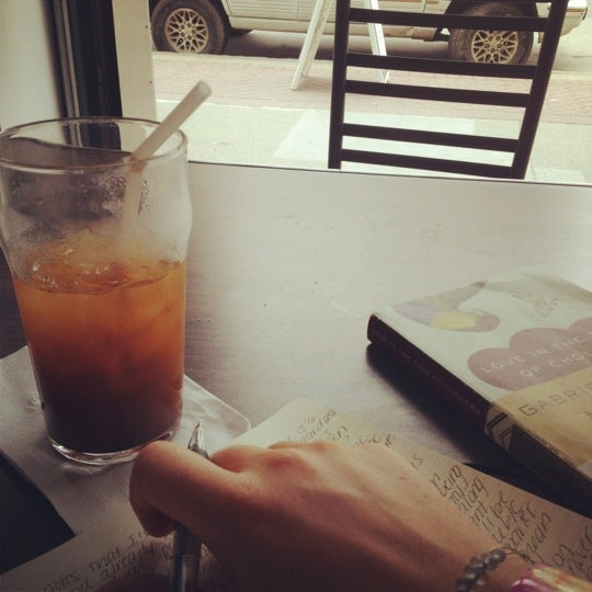 Photo taken at Transcend Coffee by Alexa M. on 6/26/2012