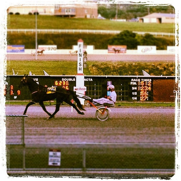 Photo taken at Meadows Racetrack & Casino by Adam V. on 8/17/2012