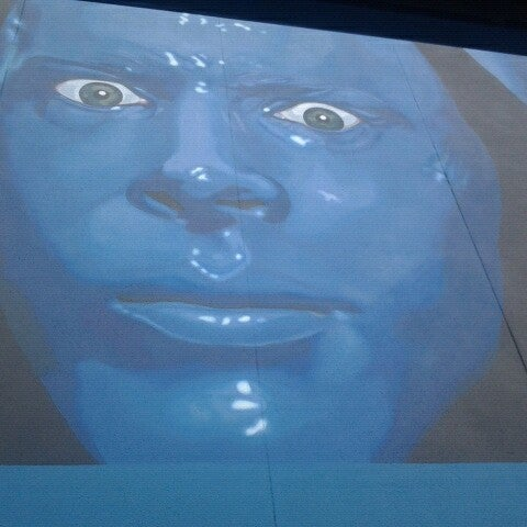 Photo taken at Blue Man Group at Universal CityWalk by Ben S. on 8/16/2012