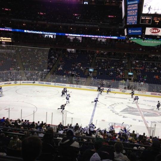 Photo taken at Nationwide Arena by Glenn B. on 3/11/2012